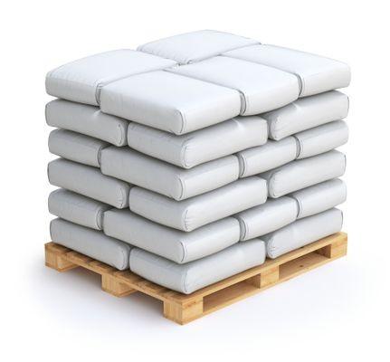 Magnesiumchlorid Kosmetik Qualität Palette mit 50 x 25kg Säcken