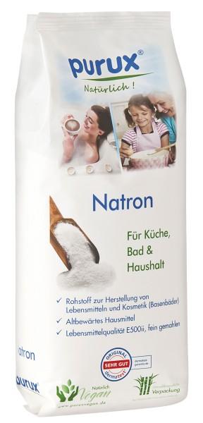 Natron Pulver 1kg, Lebensmittelqualität nachhaltig verpackt