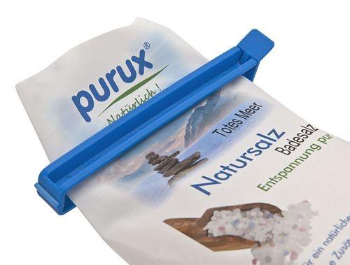 5x purux Gripper - Beutelverschliesser extra lang, Verschlussklemme Beutelclip