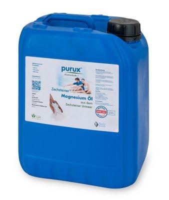 Zechsteiner Magnesiumöl 5 Liter purux, Magnesium aus dem Zechstein Meer