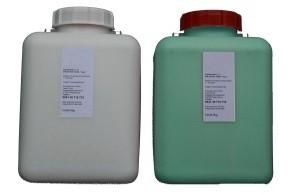 Pricosil grün, 50 kg, Shore 31 (2x25 kg) Dubliersilikon
